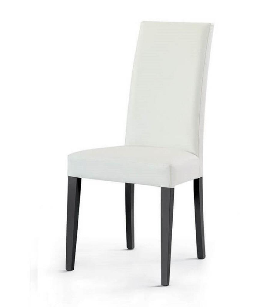 Sedie in Legno Moderne Eleganti Rivestite Ecopelle Arredo ...