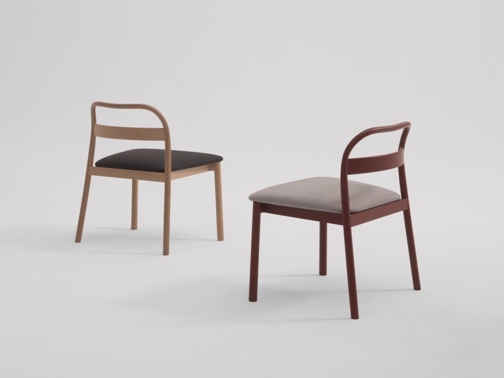 Sedie in Legno Massello Impilabili Design Moderno Arredo ...