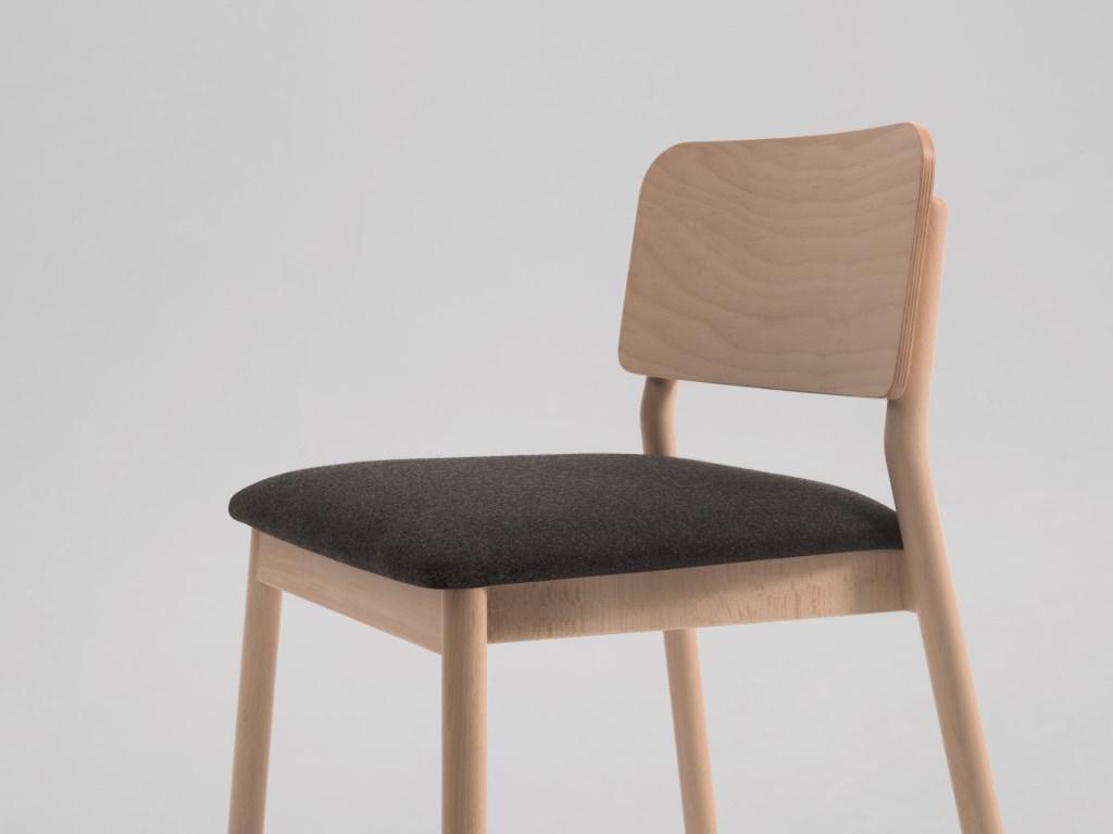Sedie Moderne in Legno Per Arredi Contract di Design Per