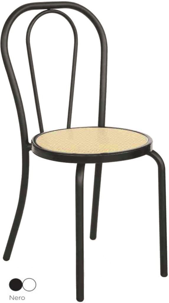Sedie Impilabili In Plastica.Sedie Thonet Impilabili In Ferro Con Seduta Plastica Ideale Ad Uso