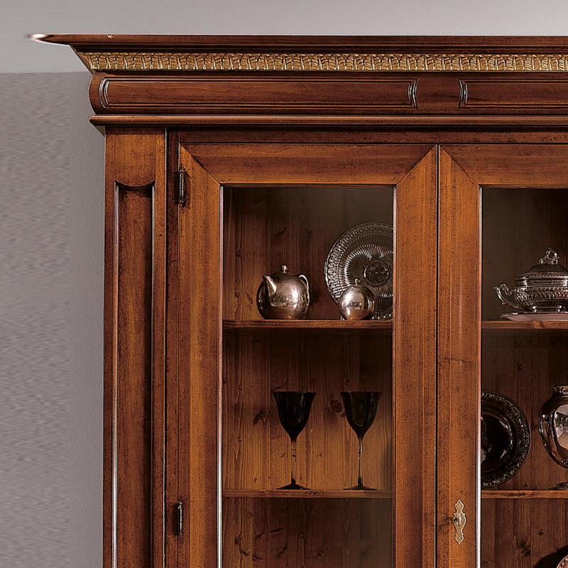 Soggiorno Sala Da Pranzo In Legno Design Classico Stile ...