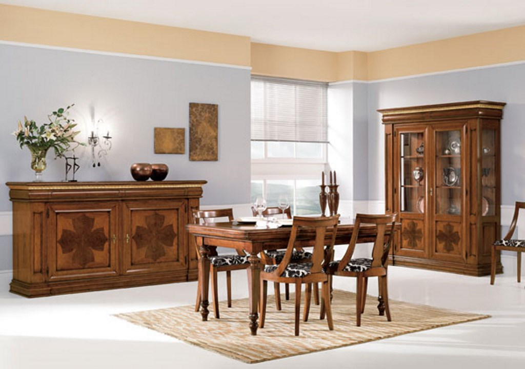 Composizione soggiorno in legno, stile arte povera ...