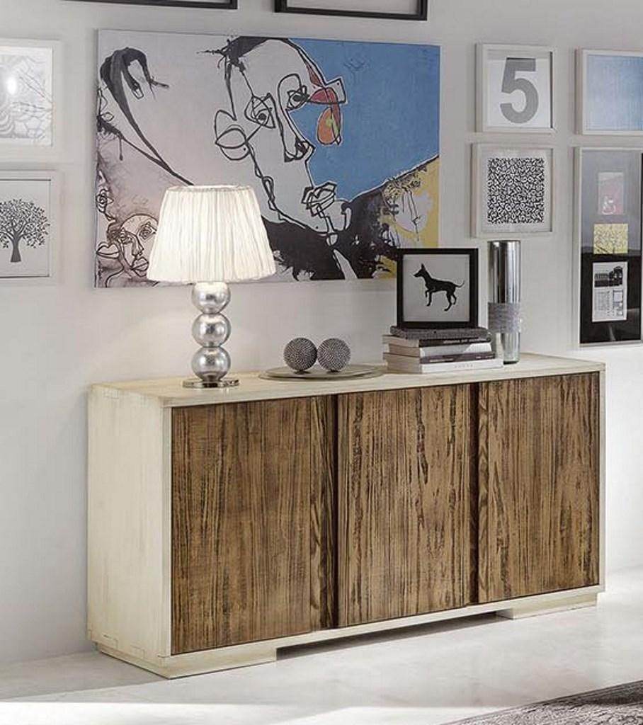 Composizione soggiorno moderno in legno mobilificio for Composizione soggiorno moderno
