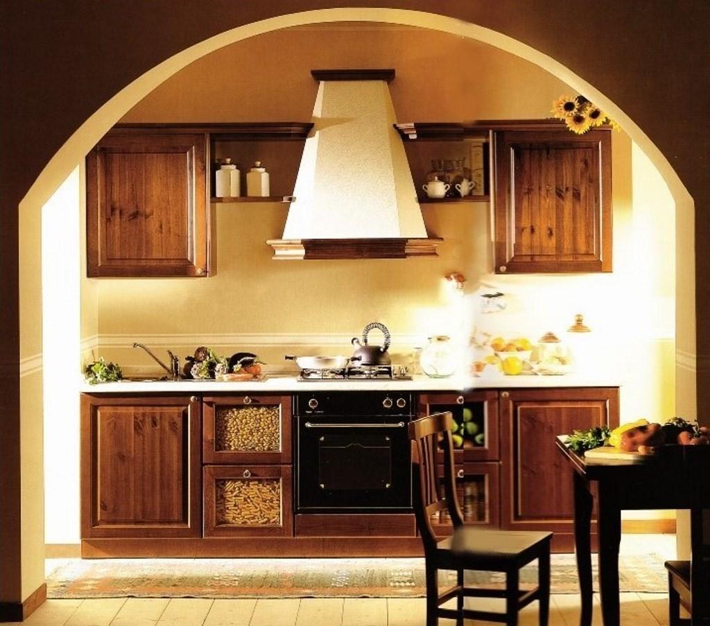 Colori Per Cucina Rustica cucine per arredo in stile rustico country in legno massello