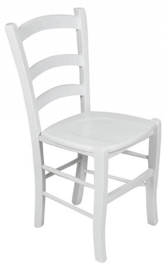 Set Tavolo 4 Gambe Color Bianco e Sedie Colorate Anilina ...