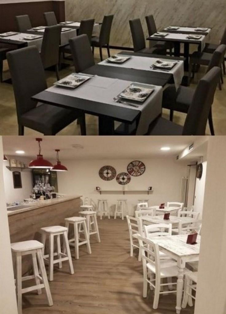 Arredamento Bar Friuli Venezia Giulia.Mobilificio Maieron Paluzza Udine Italia